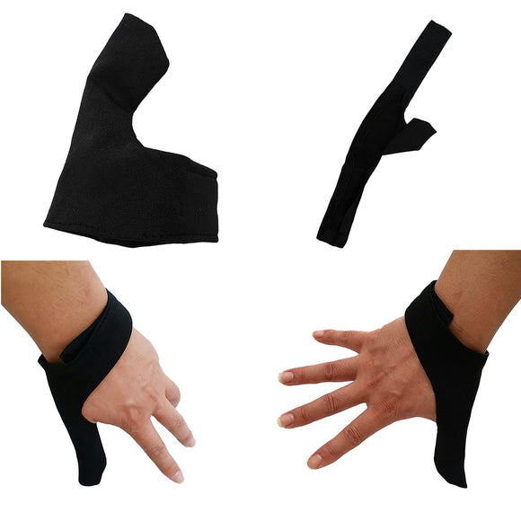 2Pcs Replacement Bowling Ball Thumb Protectors Thumb Saver Left & Right Hand Accessories for Bowling Sports