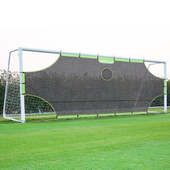 Foldable Soccer Goal Target Nets-with 5 Scoring Zones, Extra-Sturdy Portable foorball Practice Gate for Children