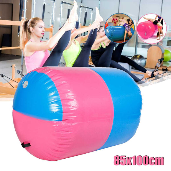 100x85cm Inflatable Airtrack Air Mat Home Roller