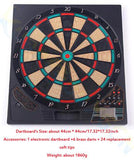 18inch Electronic Dartboard Darts Game Set Automatic Scoring Dart   Sound Prompt office family toys