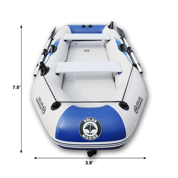 Outdoor Water Inflatable Boat 2-6people PVC Inflatable Boat Dinghy