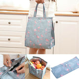 Portable Insulated Thermal Cooler Lunch Box Carry Tote Picnic Case Storage Bag