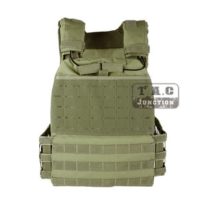 Tactical 511 Style Cross Fit Plate Carrier Weighted Vest Adjustable Heavy Carrier Quick Release Combat CS Protective Vest
