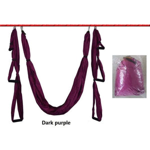 6 Handles Anti-gravity Yoga Hammock Swing Parachute Yoga Gym Hanging