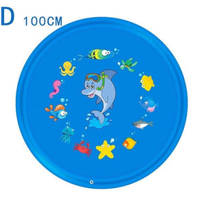 100cm/150cm/170cm 5styles Outdoor Lawn Beach Sea Animal Inflatable Water Spray