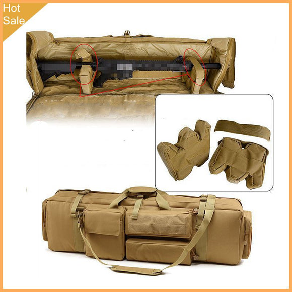 Tactical M249 Gun Bag Airsoft Military Hunting Shooting Rifle Backpack Outdoor Gun Carrying  Case With Shoulder Strap