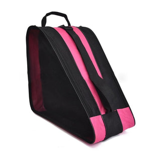 Durable Roller Skating Shoes Storage Bag polyurethane Inline Skate Shoe Portable Handbags Carry Case 38*39*20cm