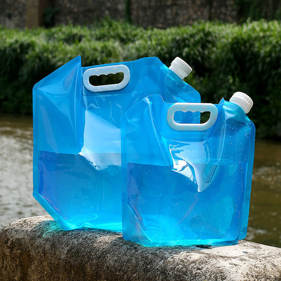 Outdoor Water Bags Foldable portable Drinking Camp Cooking Picnic