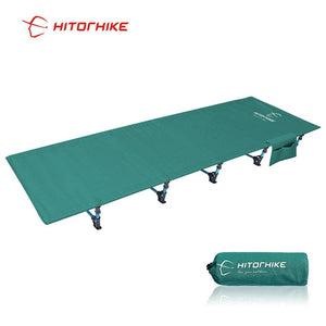 Hitorhike Camping Cot Compact Folding Cot Bed for Outdoor Backpacking Camping