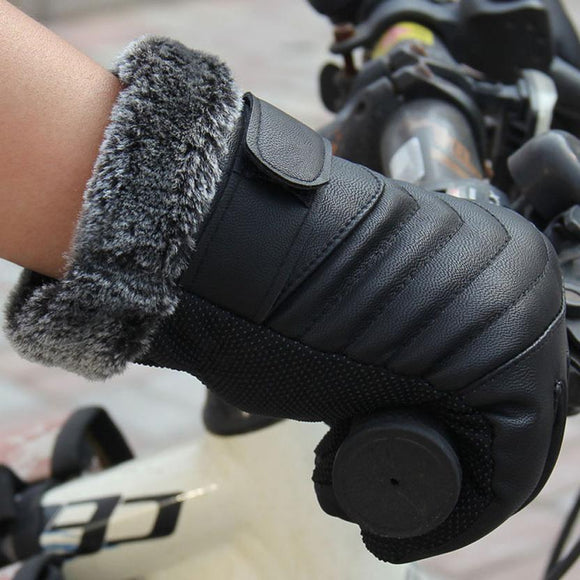 Anti Slip Men Driving Motocycle Gloves Luxury Faux Leather Winter  Screen Gloves Unisex Women Sports Military Glove #BL5