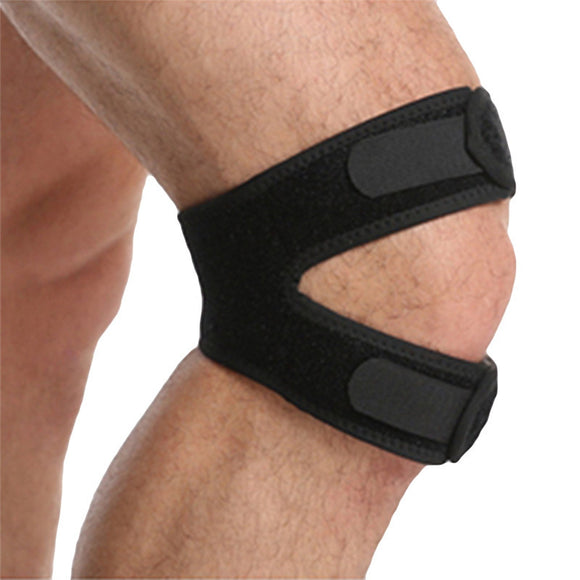1pcs Strap Knee Support Patella Tendon Brace Stabilizer Relieve Pain Sports