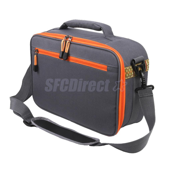 Fly Fishing Reel and Gear Bag 6 Compartment Tackle Bag