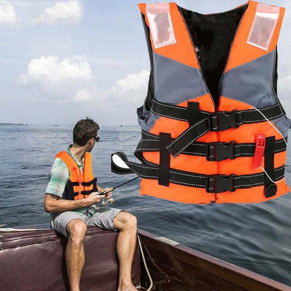 Adult Life Vest Jacket Swimming Boating Drifting Life Vest Water Sports  Men Women Jacket