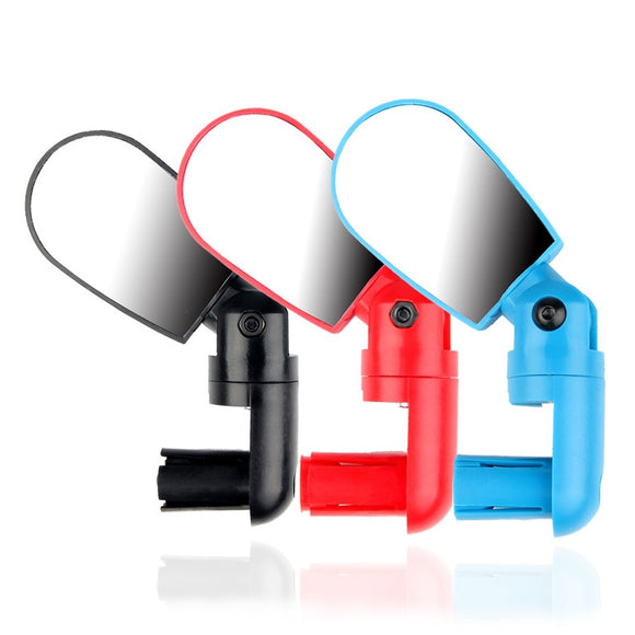 Bike Handlebar End Mirrors Cycling Back Review Mirror For MTB Road Riding Racing Steel Mirror Bicycle Accessories New Arrival