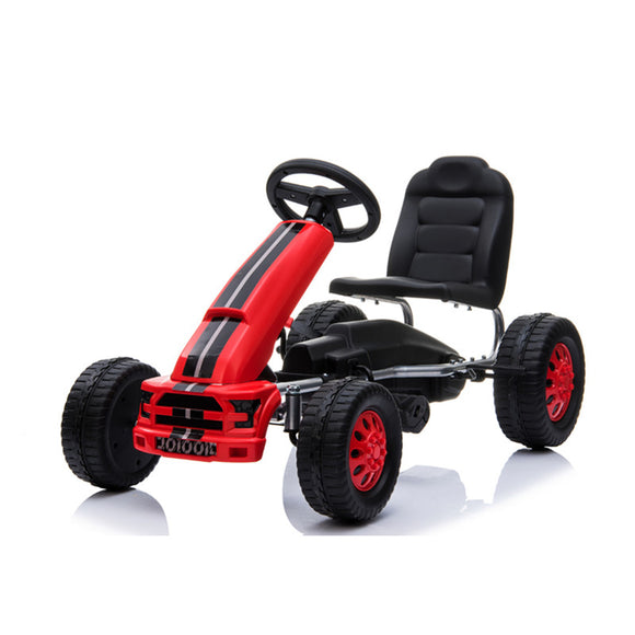 2019 New Pedal Go Kart 4 Wheels Push Bike For 3-8 Years Old