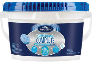 "BioGuard SILKGUARD® COMPLETE™ MULTI-BENEFIT 3"" CHLORINATING TABLETS (12 LB)"