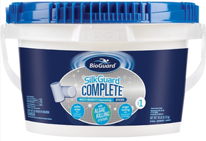 BioGuard SILKGUARD® COMPLETE™ MULTI-BENEFIT CHLORINATING STICKS (18 LB)