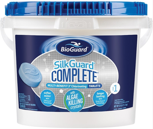 "BioGuard SILKGUARD® COMPLETE™ MULTI-BENEFIT 3"" CHLORINATING TABLETS (25 LB)"