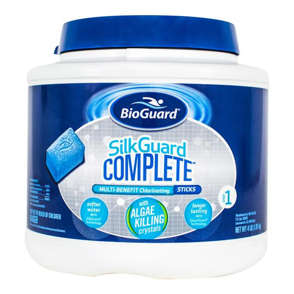 BioGuard SILKGUARD® COMPLETE™ MULTI-BENEFIT CHLORINATING STICKS (4 LB)