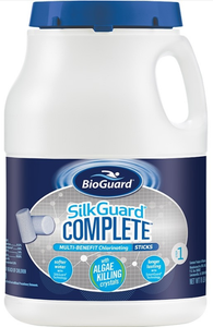 BioGuard SILKGUARD® COMPLETE™ MULTI-BENEFIT CHLORINATING STICKS (8 LB)