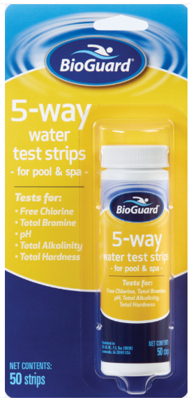 BioGuard 5-WAY TEST STRIPS (50 Strips)