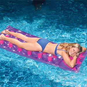 Inflatable Single French Pool Mattress