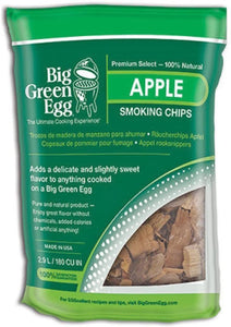 Big Green Egg Smoking Chips (Hickory, Pecan, Apple, Cherry, Jack Daniel's)