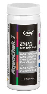 Hach Aquachek7 Silver 7-Way Test Strips (100 Count)