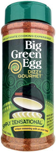 Big Green Egg Dizzy Gourmet Simply Zensational Seasoning (12.2OZ)