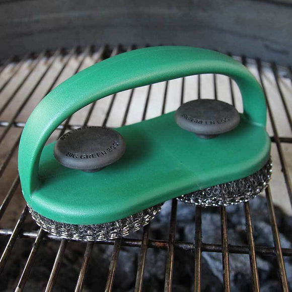 Big Green Egg Stainless Steel Dual Grid Cleaner
