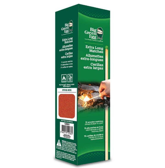 Big Green Egg Extra Long Matches (75 Count)