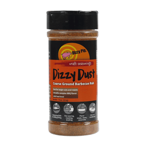 Dizzy Pig Dizzy Dust Coarse Ground Seasoning (8 OZ Shaker Bottle)