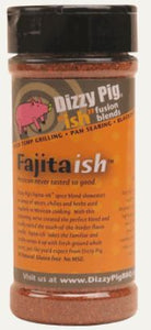Dizzy Pig Fajitaish Seasoning (8 OZ Shaker Bottle)