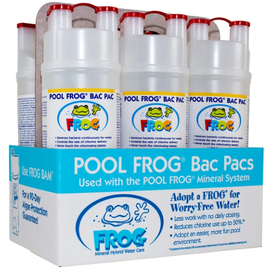 Pool Frog Chlorine Bac Pac (6 Pack)