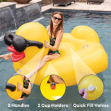 Giant XXL Inflatable Derby Duck