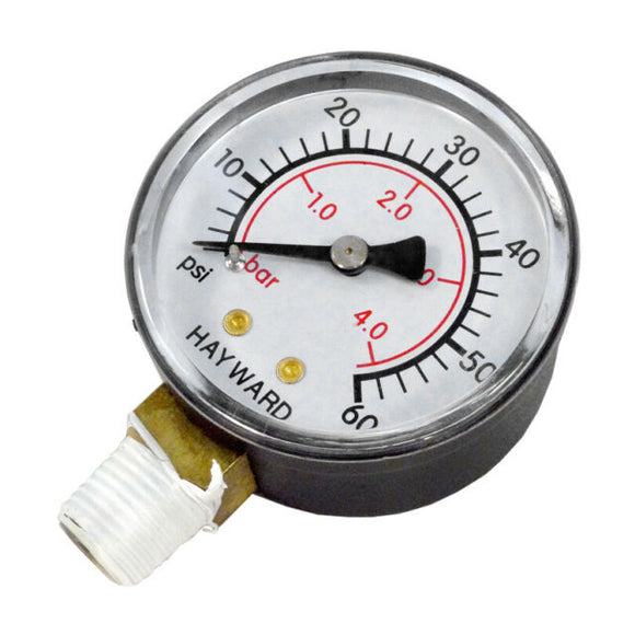 Hayward Top Mount Pressure Gauge