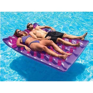 Inflatable Double French Pool Mattress