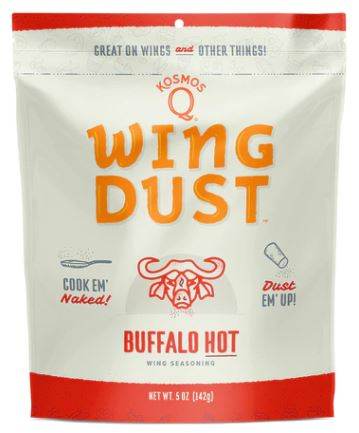 Kosmos Q Buffalo Hot Wing Dust (5 OZ Bag)