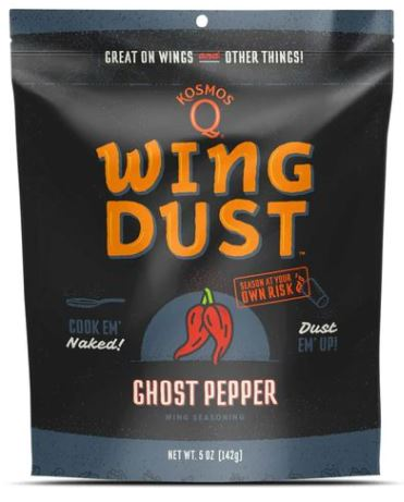 Kosmos Q Ghost Pepper Wing Dust (5 OZ Bag)