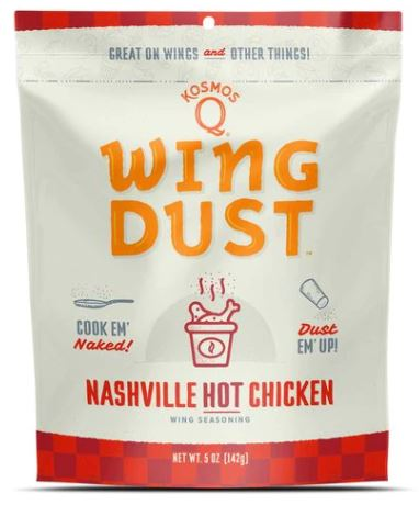 Kosmos Q Nashville HOT Chicken Wing Dust (5 OZ Bag)