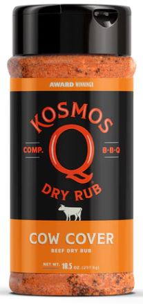 Kosmos Q Cow Cover Rub (10.5 OZ Shaker Bottle)