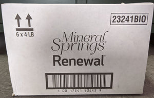 BioGuard MINERAL SPRINGS RENEWAL (Case 6 x 4LB)