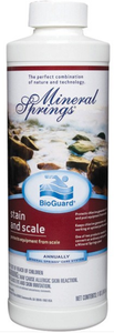 BioGuard MINERAL SPRINGS STAIN AND SCALE (1 Quart)