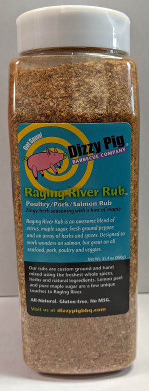 Dizzy Pig Raging River Seasoning (1 QT Shaker Bottle)