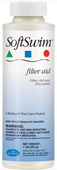 BioGuard SOFTSWIM FILTER AID (1 LB) (BIGUANIDE POOLS ONLY)