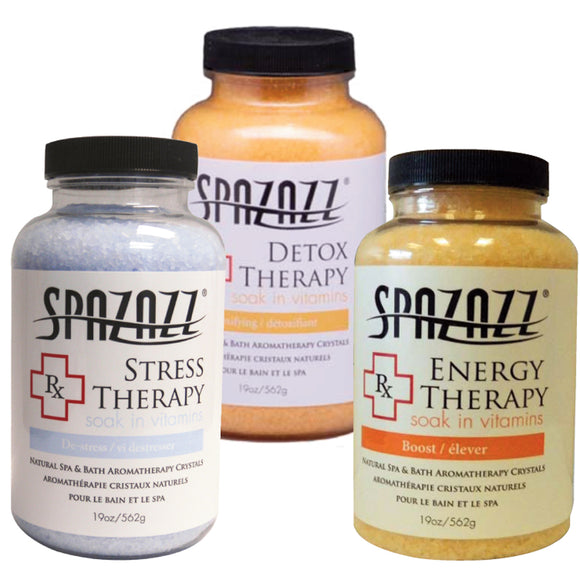 Spazazz 19oz Soak in Vitamins Natural Aromatherapy