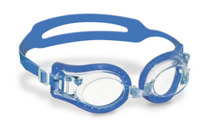 Swim Goggles Jelly Type (Youth/Adult) with Case (Blue)