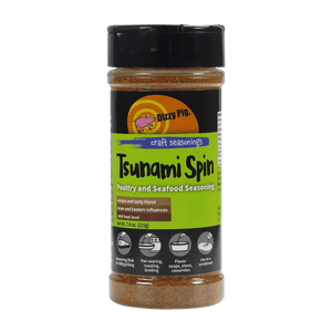 Dizzy Pig Tsunami Spin Seasoning (8 OZ Shaker Bottle)
