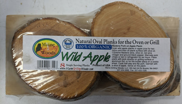 Wild Apple Grilling Planks