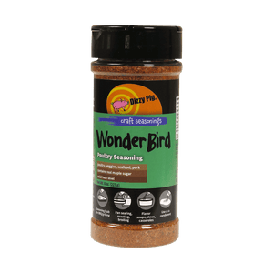 Dizzy Pig Wonder Bird Seasoning (8 OZ Shaker Bottle)